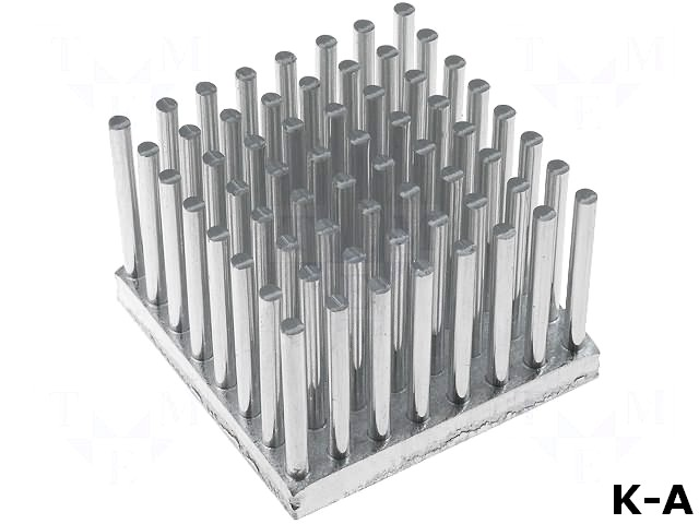 ICKS29X29X20 - Радиатор, для светодиодов, L:29 мм, W:29 мм, H:20 мм, 3,7К/Вт