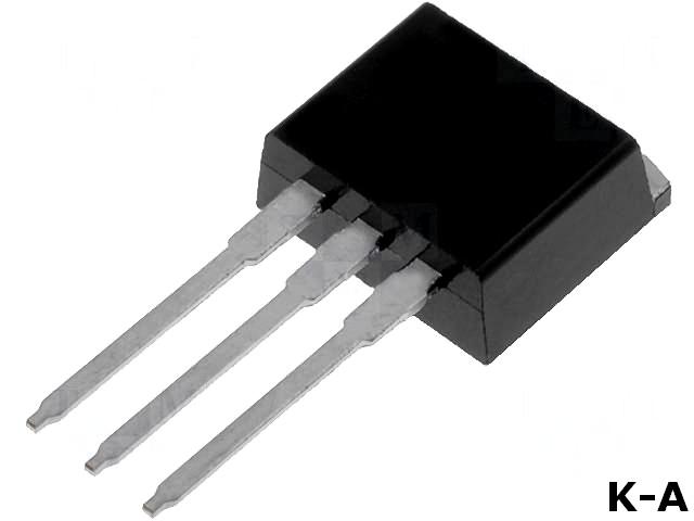 IRF1404ZLPBF - Транзистор: МОП n-канальный, полевой, 40В, 190А, 220Вт, TO262