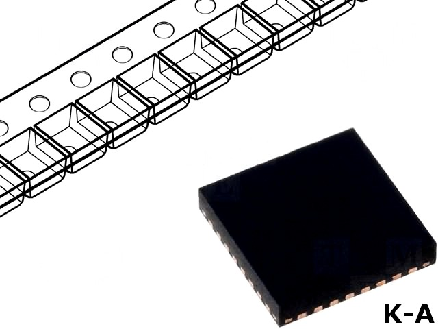 LTC3858EUH-2PBF - Преобразователь DC/DC, step down, Uвх:4÷38В, Uвых:0,8÷24В, QFN32