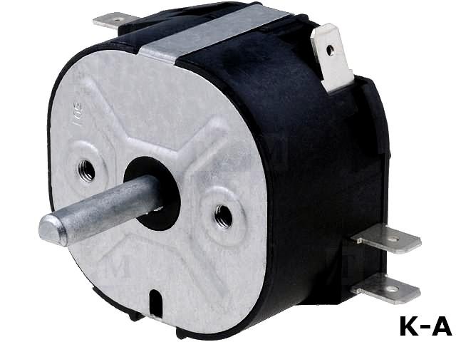 MI2R2062H - Реле времени, макс 2ч, DPDT, 250VAC/16A, винтами, -30÷125°C, PIN:6