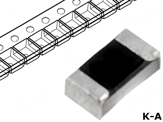 RC0402JR-07220K - Резистор: thick film, SMD, 0402, 220кОм, 63мВт, ±5%, -55÷125°C