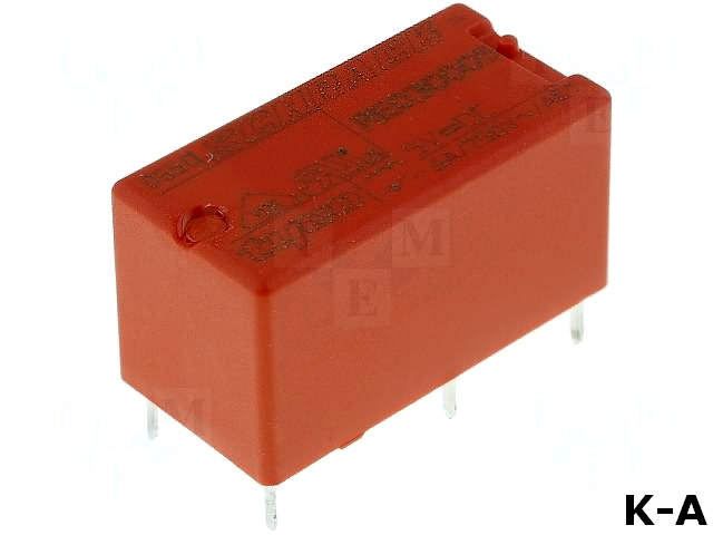 RE030005 - Реле: электромагнитное, SPST-NO, Uобмотки:5ВDC, 6A/250ВAC, 125Ом