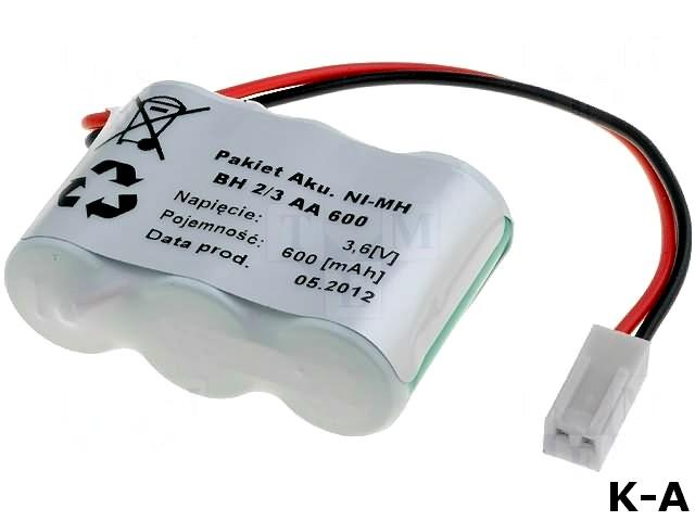 ACCU-600/3NI-MH/C