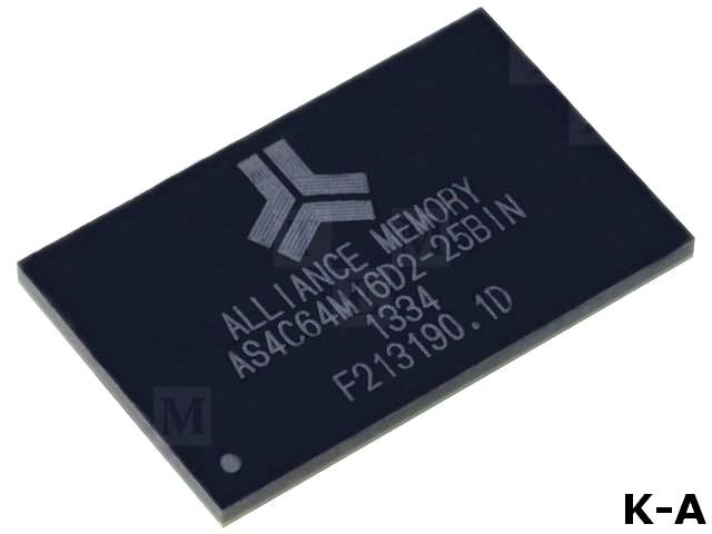 AS4C64M16D2-25BIN