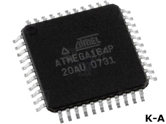 ATMEGA164P-20AU