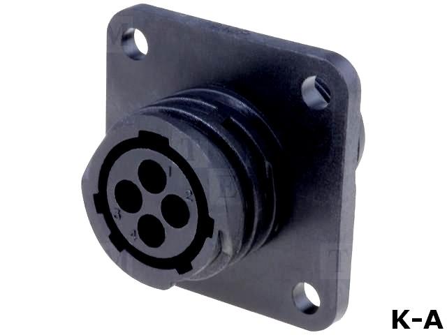 CPC-206430-1 - Разъем: круглый, Серия: CPC Series 1, гнездо, \'мама\', PIN:4