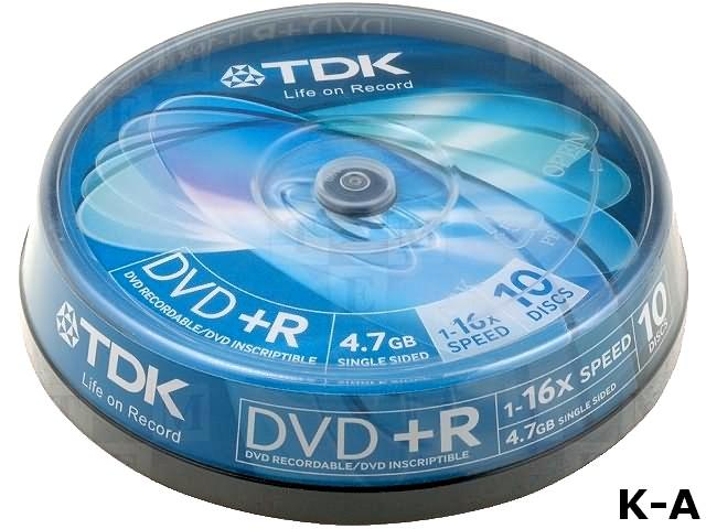 DVD+RTDK4.7-10P