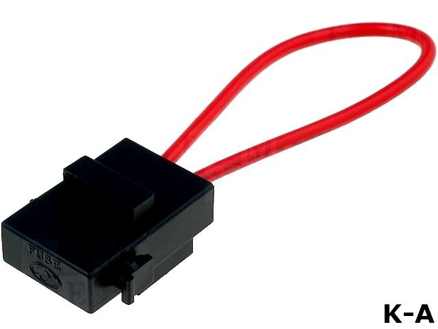 KEYS3559 - Держатель, автомобильные предохранители, 19 мм, Монтаж: на кабель