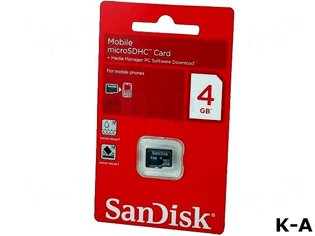MICRO-SDHC-4GB