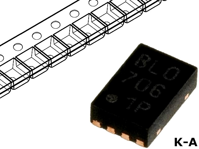 PIC10F222T-I/MC