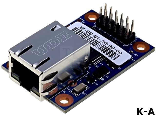 WIZ107SR-TTL - Модуль: Ethernet, Интерфейс: UART, 3,3ВDC