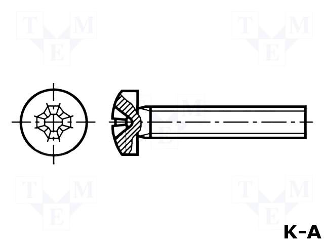 M2.5X4/D7985B