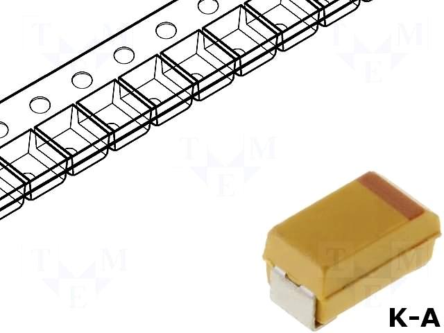 T491A105K025AT