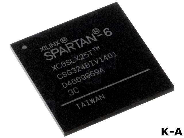 XC6SLX25T-3CSG324C