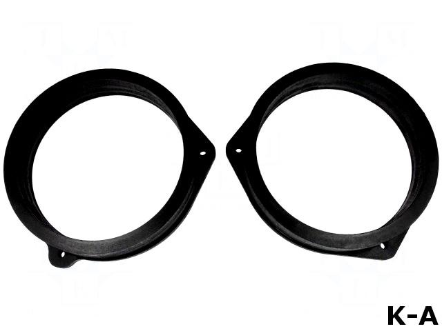 D.MDF.NISSAN02 Проставочное кольцо, МДФ, 165мм, Nissan, пропитанное