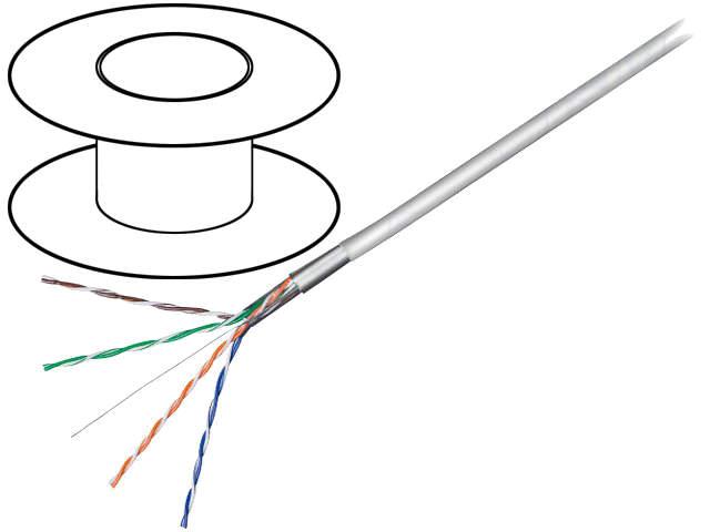F/UTP5E-SCCA-100-H